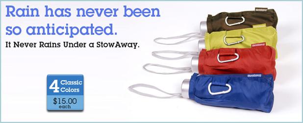 StowAway Umbrella