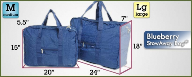 StowAway Classic Bag® - Blueberry