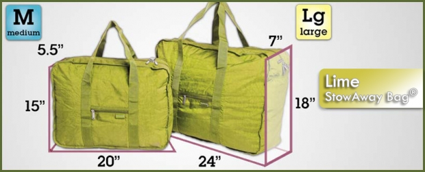 StowAway Classic Bag® - Lime